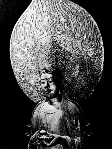 статуя Гусэ Каннон из храма Юмэдоно