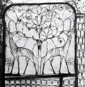 Н. А. Андреев. Надгробие Н. Л. Тарасова 1912. Гранит, бронза. Москва, Ваганьковское (армянское) кладбище